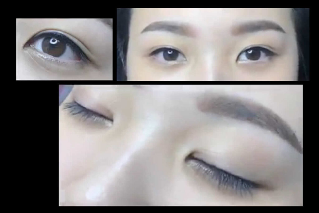 魅惑眼線-手工紋繡